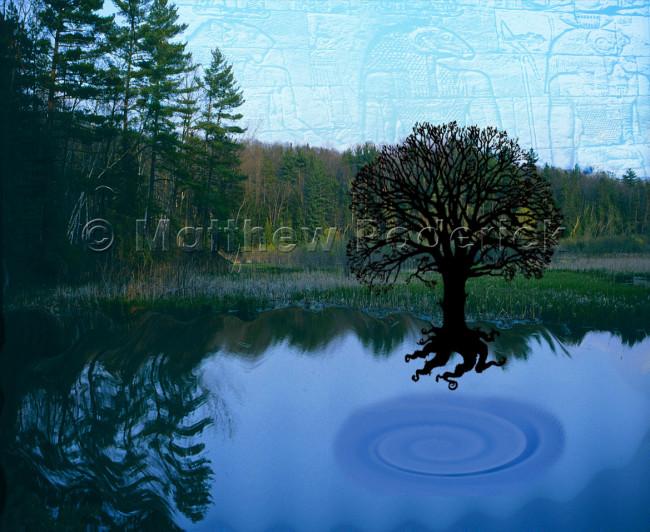 paradise-photography-photoshop-collage-art-hieroglyphic-reflections